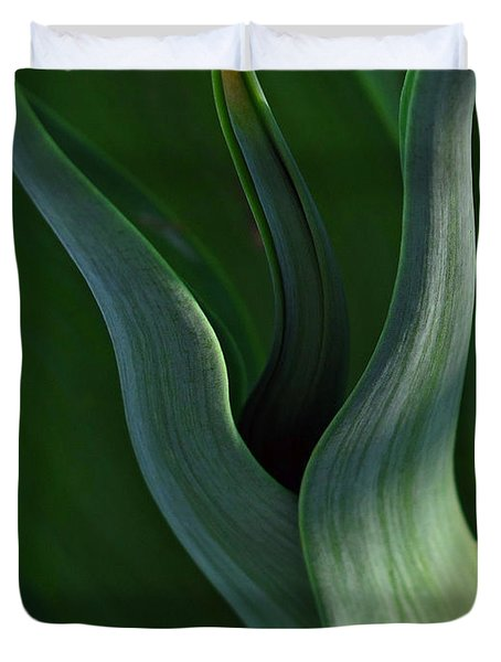 Agave Abstract Duvet Cover