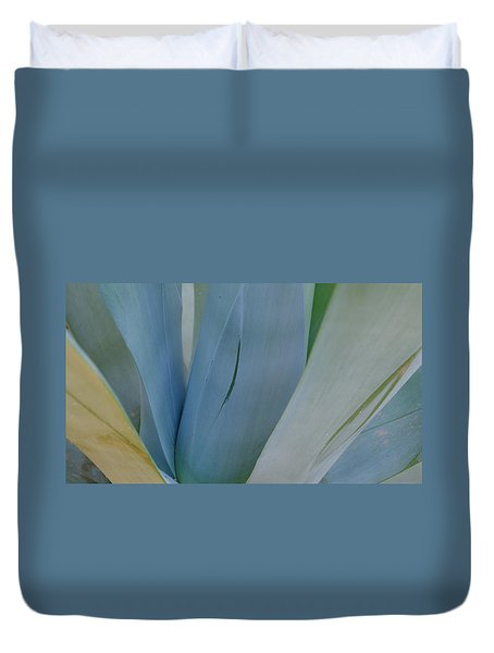 Agave Colors Duvet Cover