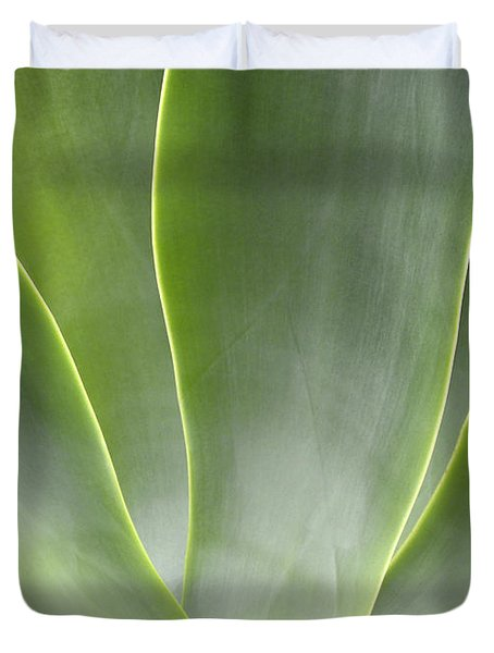 Agave Leaves Duvet Cover by Rich Franco