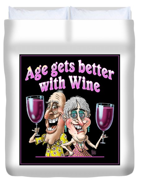 Age Gets Better Couple Duvet Cover