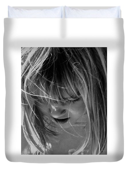 Age Of Innocence And Joy Duvet Cover