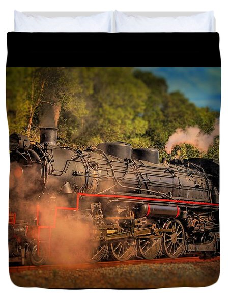 Age Of Steam 3 Duvet Cover by Wallaroo Images