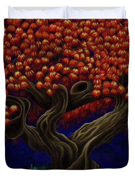Aged Autumn Duvet Cover