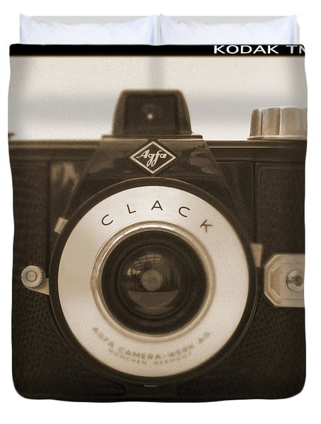 Agfa Clack Camera Duvet Cover by Mike McGlothlen