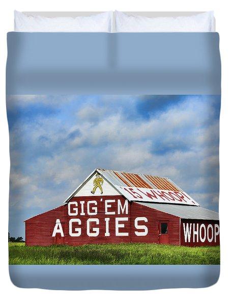 Aggie Nation Barn Duvet Cover