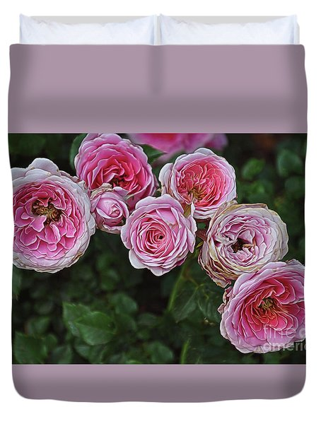 Aging Beauties Duvet Cover by Gina Savage