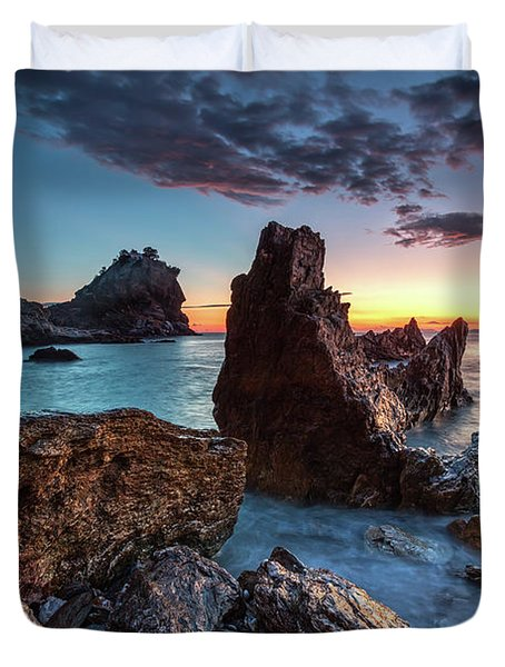 Agios Ioannis Duvet Cover by Evgeni Dinev