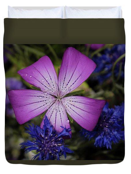 Agrostemma Duvet Cover