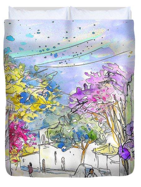 Agua Amarga 12 Duvet Cover by Miki De Goodaboom