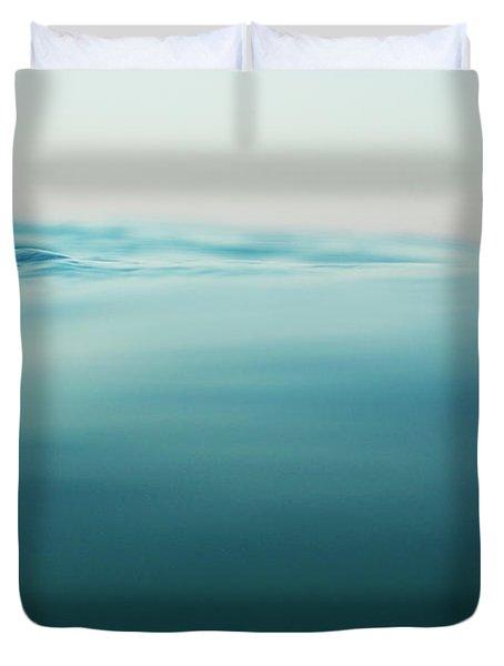 Agua Duvet Cover