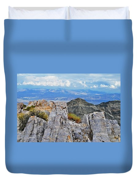 Aguereberry Point Rocks Duvet Cover