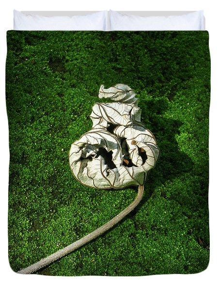 Aguished Leaf Duvet Cover