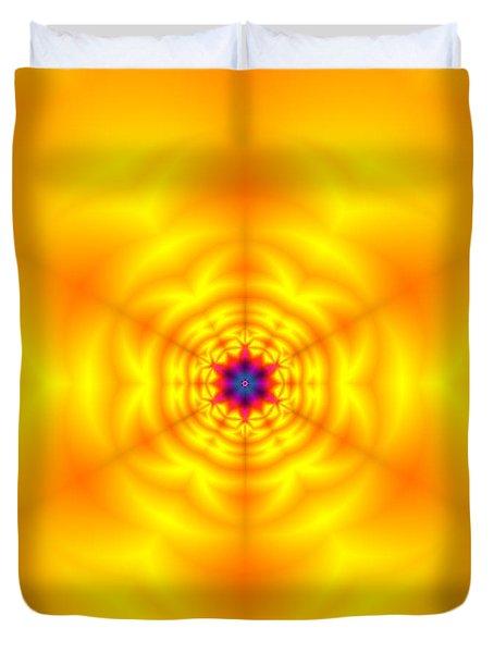 Duvet Cover featuring the digital art Ahau 6 by Robert Thalmeier