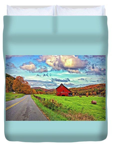 Ah...west Virginia Duvet Cover by Steve Harrington