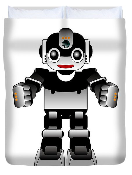 Ai Robot Duvet Cover