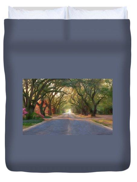Aiken South Boundary Avenue Duvet Cover