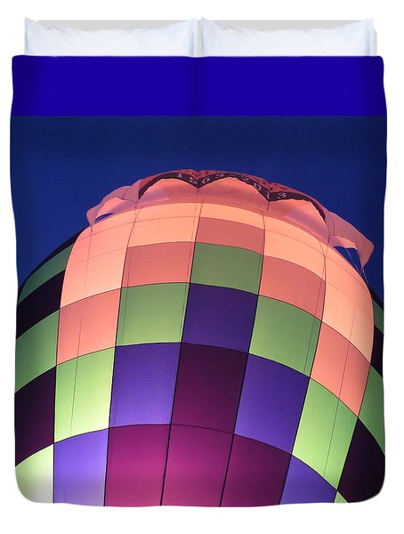Air Balloon Duvet Cover