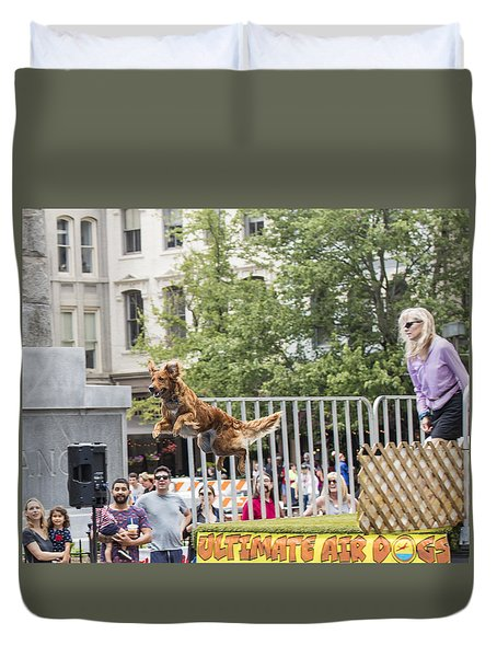 Air Dog 3 Duvet Cover