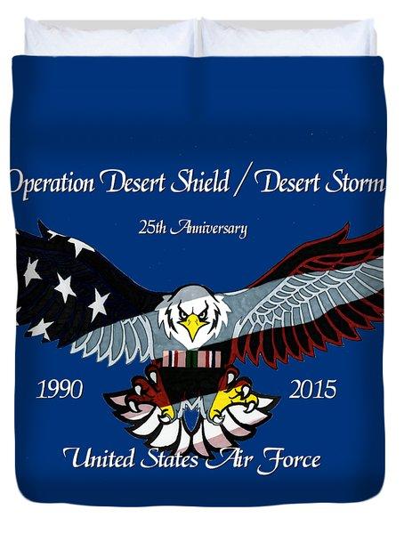 Air Force Desert Storm Duvet Cover