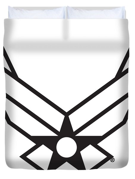 Air Force Logo Duvet Cover