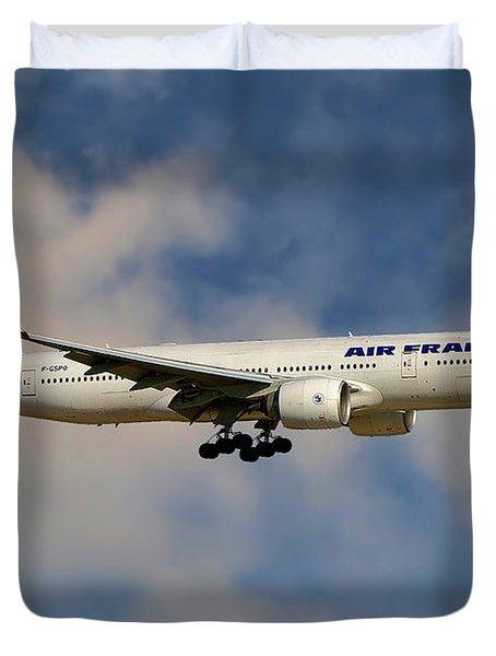 Air France Boeing 777-228 Duvet Cover
