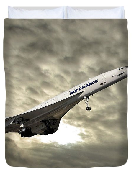 Air France Concorde 115 Duvet Cover