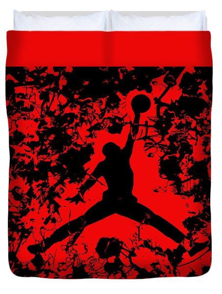 Air Jordan 1b Duvet Cover