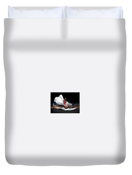 Air Jordan Chicago Duvet Cover
