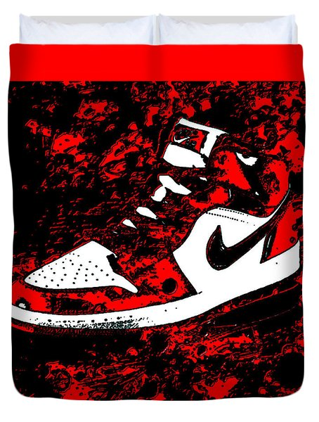 Air Jordan I Notorious Duvet Cover