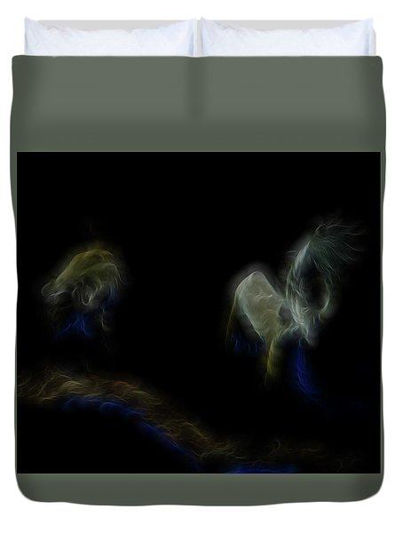 Air Spirits 6 Duvet Cover by William Horden