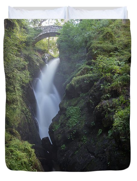 Aira Force Waterfall Duvet Cover