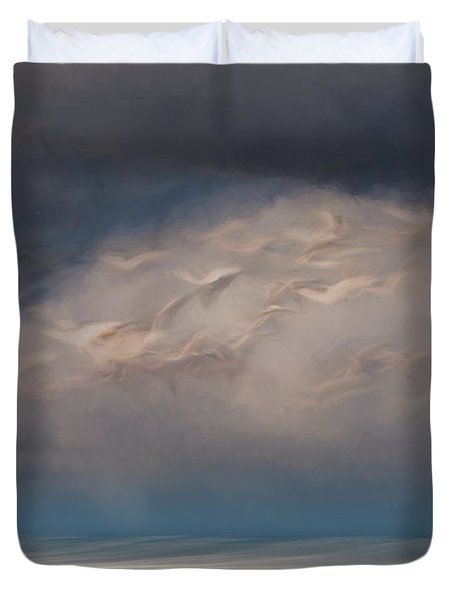 Born To Fly Duvet Cover