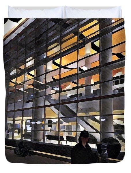 Airport 1.30am Duvet Cover