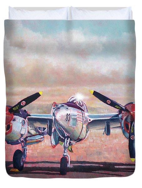 Airshow Lightning Duvet Cover