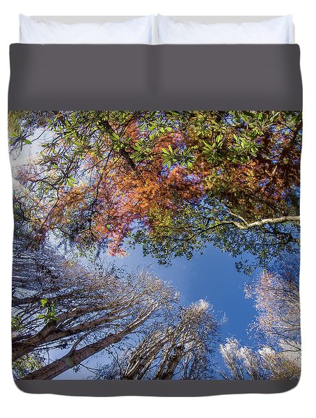 Airy Autumn Colors 2 Duvet Cover