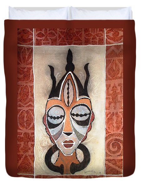 Aje Mask Duvet Cover