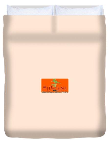 Ajiterapia T-shirt Duvet Cover
