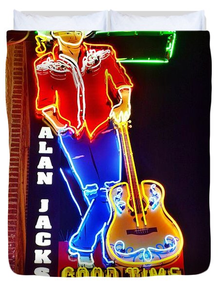 Aj's Good Time Bar Duvet Cover