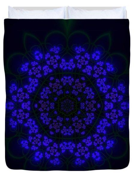 Akabala Lightmandala Duvet Cover by Robert Thalmeier