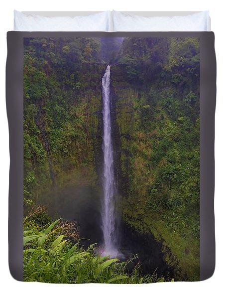 Akaka Falls Duvet Cover