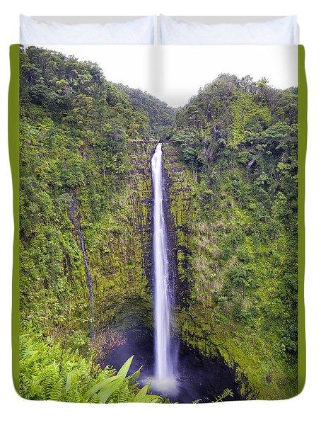 'akaka Falls Duvet Cover