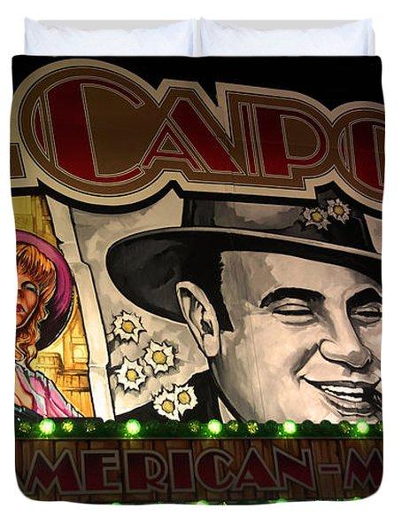 Al Capone On Funfair Duvet Cover