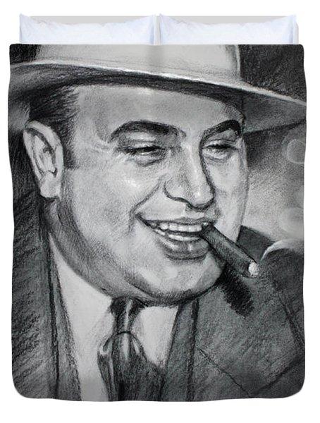 Al Capone Duvet Cover by Ylli Haruni