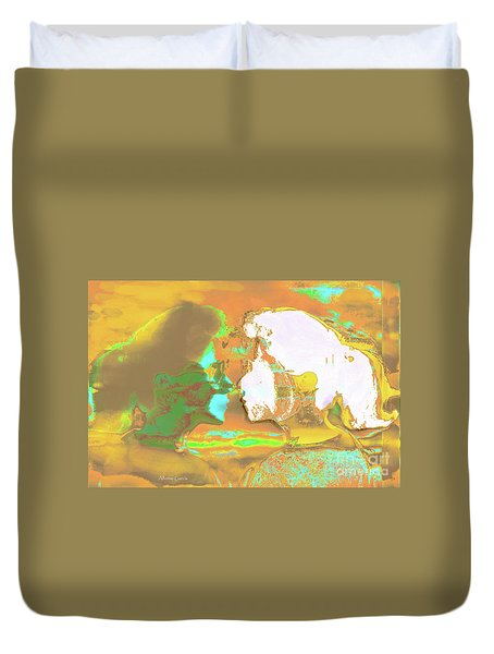 Duvet Cover featuring the photograph Al Espejo by Alfonso Garcia