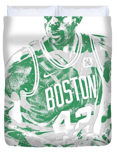 Al Horford Boston Celtics Pixel Art 6 Duvet Cover