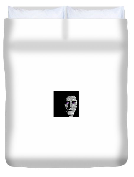Al Pacino Duvet Cover by Emme Pons