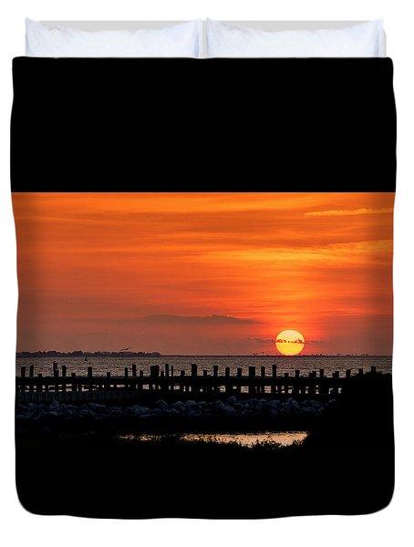 Alabama Sunset Duvet Cover