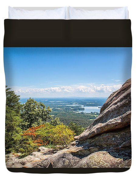 Duvet Cover featuring the photograph Alabama by Susi Stroud