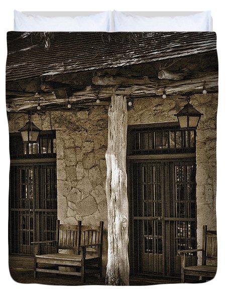 Alamo Adobe Duvet Cover