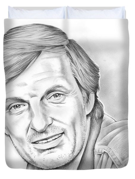 Alan Alda Duvet Cover